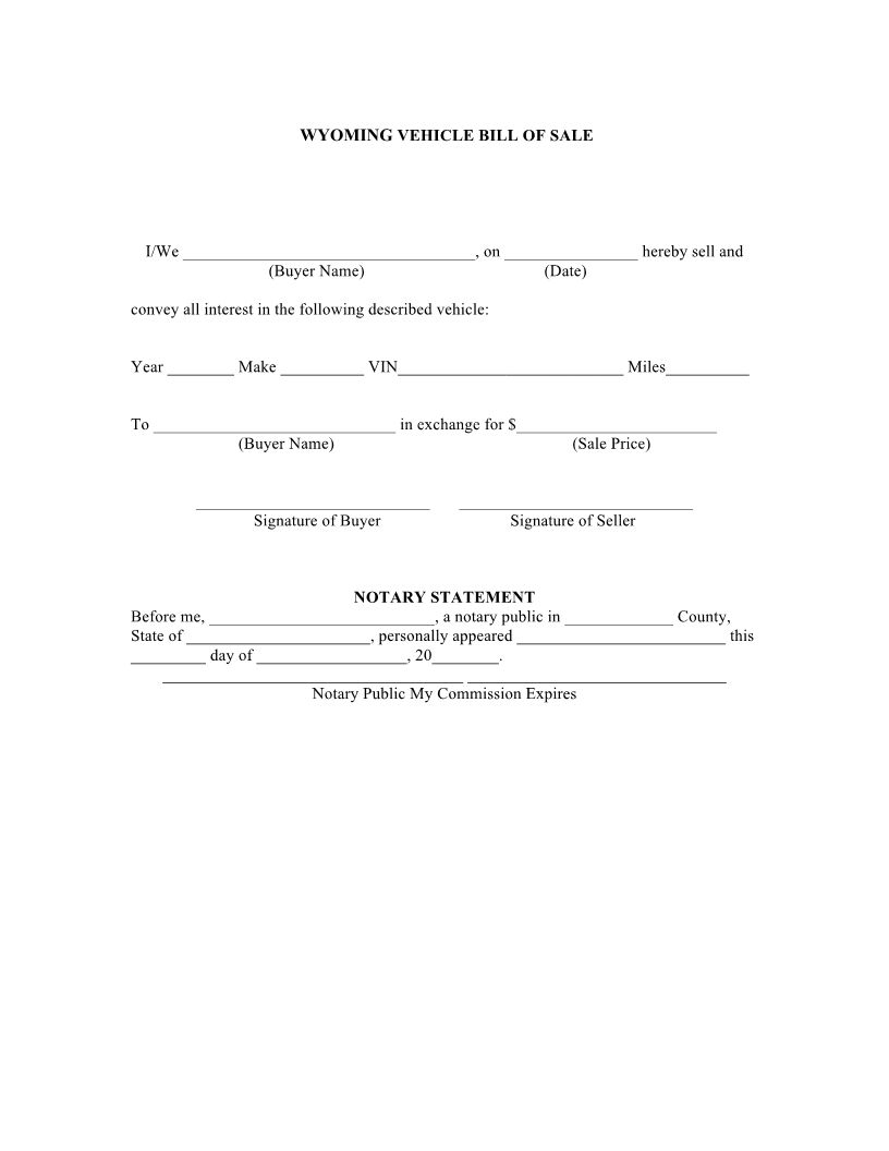 Most Popular Bill Of Sale Forms  General Bill Of Sale Form