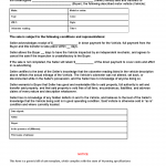 The Wyoming Standard Motor Vehicle Bill Of Sale Form Is Used When Any  Individual Making A Decision To Buy Or Sell A Motor Vehicle In The State Of  Wyoming To ...  Bill Of Sale For Land